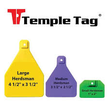 Applicator Temple Feeder Fast (Orange Handle) Each By Temple Tag