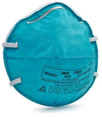 3M N95 Particulate Respirator & Surgical Mask Case 1860 By 3M Health Care