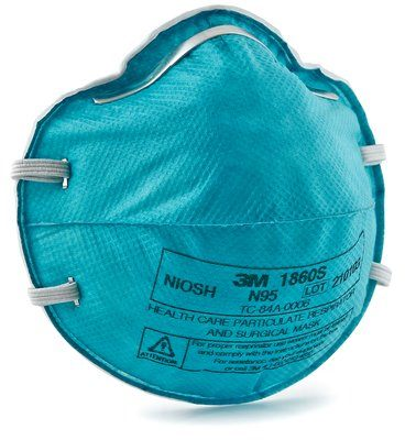 3M N95 Particulate Respirator & Surgical Mask Case 1860S By 3M Health Care