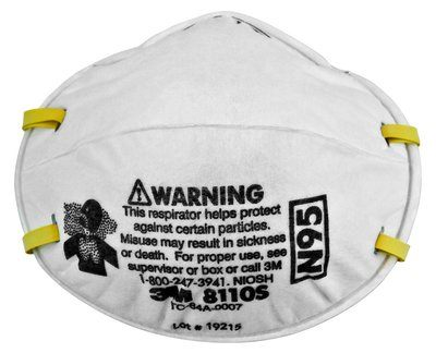 3M Particulate Respirator Case 8110S By 3M Health Care BOX OF 20