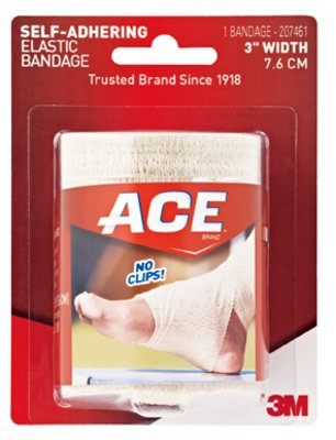 Free Shipping-3M ACE Brand Athletic Bandages Case 207461 By 3M Health Care