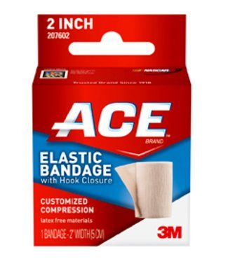 Free Shipping-3M ACE Brand Elastic Bandages Case 207602 By 3M Health Care
