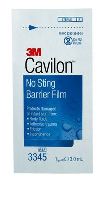 3M Cavilon No-Sting Barrier Film Case 3345 By 3M Health Care