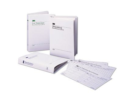 3M Attest Log Books & Record Charts Each 1266-A By 3M Health Care
