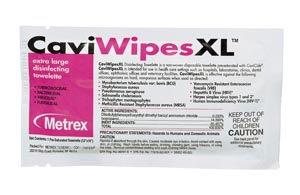 Metrex Caviwipes1 Surface Disinfectant 1 Box of 50 13-5155 By Metrex Research