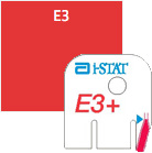 I-Stat Cartridge E3+ P10 By Abaxis