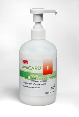 Avagard D Instant Hand Antiseptic With Moisturizers Pump 500ml Orm-D Each By