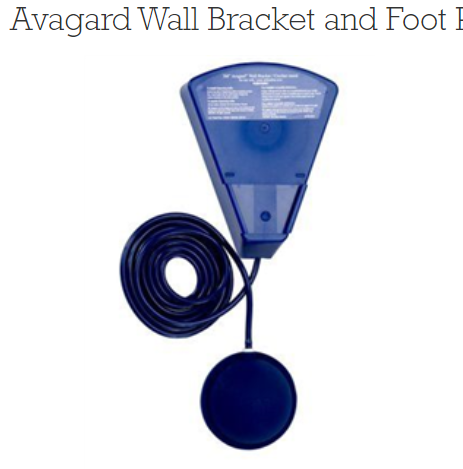 Avagard Wall Bracket And Foot Pump 10 Each By 3M Animal Care Products