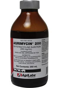 Agrimycin (Oxytetracycline) 200Mg� 250cc By Agrilabs