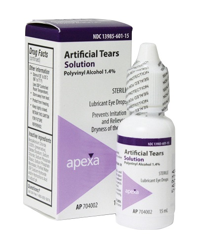 Artificial Tears Ophthalmic Solution (Vet Label)� 15ml By Apexa(Vet)