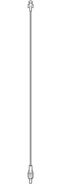 IV Extension 61 Minibore 0.9 ml Each By Baxter(Vet)