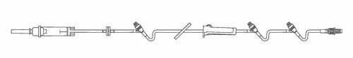 IV Extension Set 104 Continu-Flo W/ Duo-Vent 10 Drops/ml Each By Baxter(Vet)