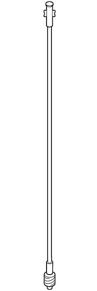 IV Extension Set 21 W/ Luer Lock Each By Baxter(Vet)