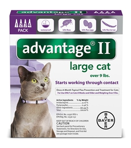Advantage II - Cats 10-18# Purple
