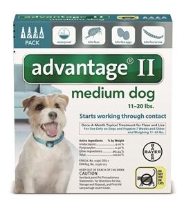Advantage II - Dog11-20# Teal