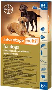 Advantage Multi Dog 56-88# Blue