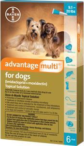 Advantage Multi Dog 9-20# Teal