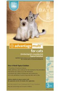 Advantage Multi For Cats 2-5# Turquoise