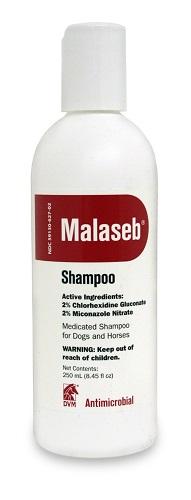 Malaseb Shampoo � Item No.:Vet-OTC-MW 059918<Br><Br><Br>Manufacturer:Bayer Direct<Br>MW SKU:059918<Br>Manf Code:00724089512307<Br>Rx:No<Br>Human Label:No