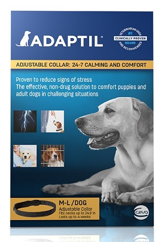 Adaptil Collar Med/Large Dog - Size : Necks Up To 26.4 Each By Ceva(Vet)