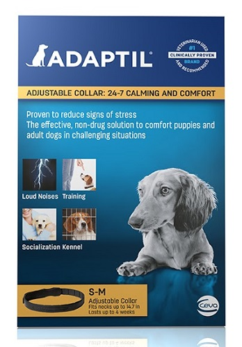Adaptil Collar Small/Medium Dog - Size : Necks Up To 14.7 Each By Ceva(Vet)