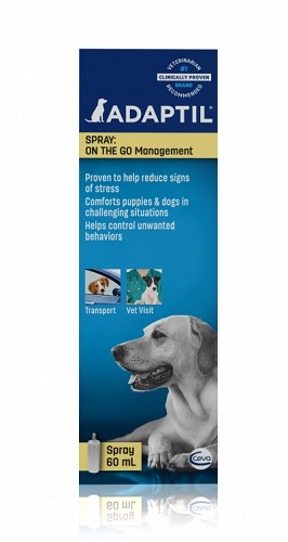 Adaptil Spray [Dog Appeasing Pheromone] 60ml Orm-D 60ml By Ceva(Vet)