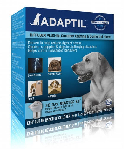 Adaptil Starter Kit - New Diffuser + 30 Day Refill Each By Ceva(Vet)