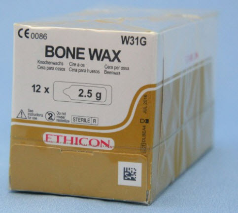 Bone Wax 12 X 2.5gm B12 By Ethicon(Vet)