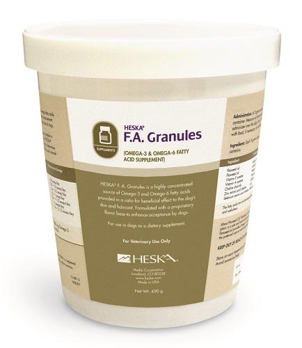 Heska F.A. Granules 450gm Each By Heska(Vet)