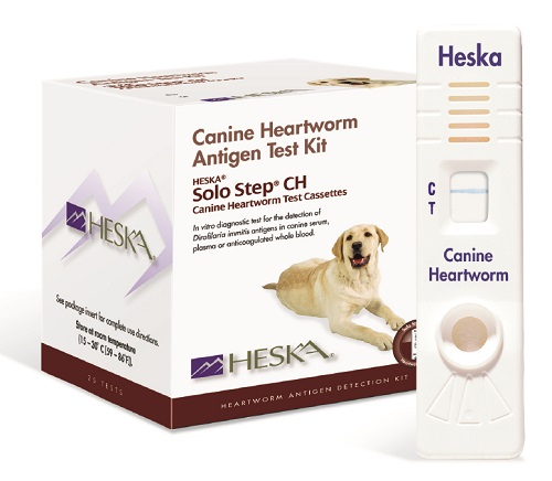 Solo Step Ch Canine Heartworm Test� B25 By Heska(Vet)