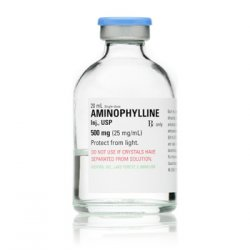 Aminophylline Inj 500Mg�25Mg/ml 20ml Bx25 By Hospira