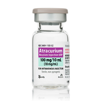 Atracurium 10Mg/ml Sdv 10ml � Bx10 By Hospira