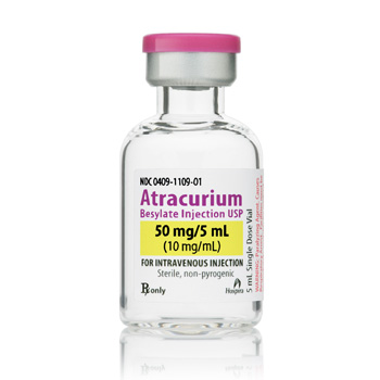 Atracurium 10Mg/ml Sdv 5ml Bx10 By Hospira
