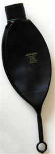 Anesthesia Bag Rebreathing 3 Liter Black Rubber Each By Jorgensen(Vet)