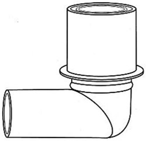 Anesthesia Connector Elbow P2 By Jorgensen(Vet)
