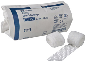 Gauze Conform Stretch Bandage - Curity Bulk / Nonsterile 1X75 P24 By Cardinal