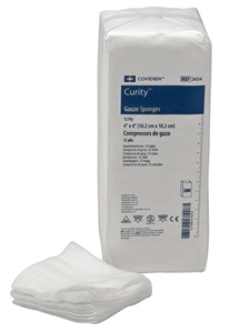 Gauze Sponges Curity 12-Ply Nonsterile 4 X4� P200 By Medtronic