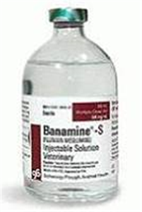 Banamine-S (Flunixin Meglumine) Injectable Solution For Swine� 100cc By Merck An