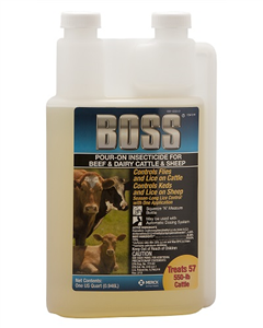 Boss Pour-On Insecticide� QT. By Merck Animal Health
