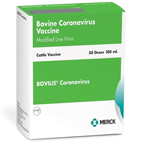 Bovilis Coronavirus� P25 By Merck Animal Health