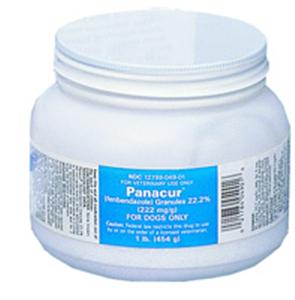 Panacur Granules 22.2% (Fenbendazole)� 1Lb By Merck Animal Health