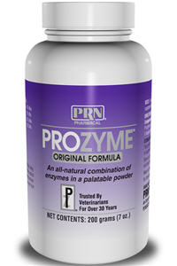 Pr oz yme Original Small Animal (Enzyme Dietary Supplement) 200gm By Prn