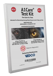 A1 Care Test Kit� Bx5 By Vedco(Vet)