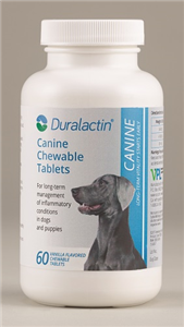 Duralactin Canine Chew Tabs 1000mg (Vanilla Flavor)� B60 By Veterinary Products