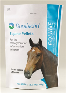 Duralactin Equine Pellets - 1.93# Bag By Veterinary Products Labs