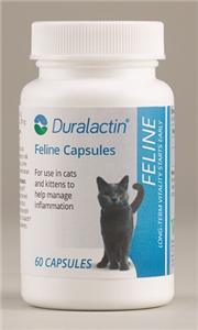 Duralactin Feline Caps (Non-Flavored) B60 By Veterinary Products Labs
