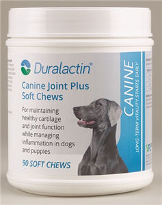 Duralactin K9 Joint Plus [Liver Flavor] Soft Chews B90 By Veterinary Products La