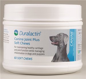 Duralactin K9 Joint Plus [Liver Flavor] Soft Chews� B60 By Veterinary Products L