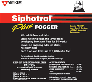 Fogger Siphotrol Plus P3 By Veterinary Products Labs