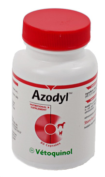 Azodyl Small Caps B90 By Vetoquinol USA Refrigerated Will Ship Cold Pack
